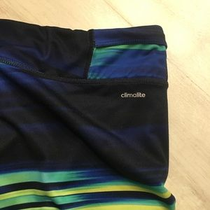 adidas Pants - Adidas climalite running capri pants. EUC size M